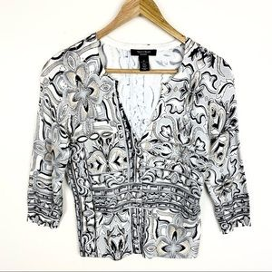 White House Black Market Cardigan Button  Sweater